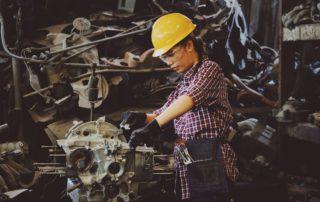 operating heavy machinery